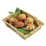 "Tablecraft (1689) 14"" Rectangular Woven Willow Display Basket [Set of 6]"