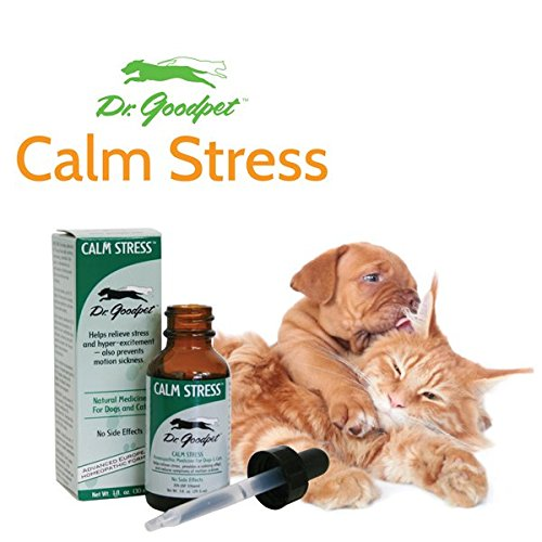 Product image of Dr. Goodpet Calm Stress - All Natural Advanced Homeopathic Formula - Safe & Effective Treatment for Hyperactivity & Anxiety!