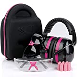 Best Case With Shooting - Tradesmart Pink Ear Muffs, Earplugs, Gun Safety Glasses Review