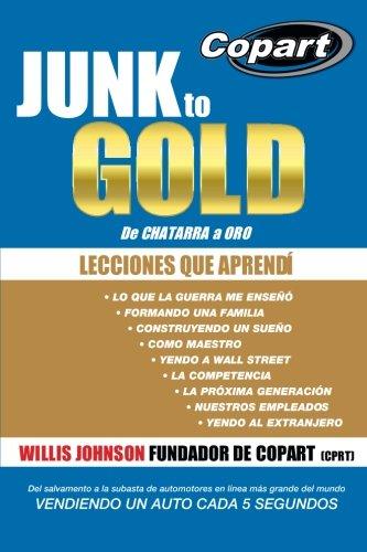Junk To Gold  De Chatarra A Oro  Del Salvamento A La Subasta De Automotores En L Nea M S Grande Del Mundo Vendiendo Un Auto Cada 5 Segundos  Spanish Edition