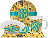 African Safari Dinner Set - 4 Pc (Personalized)