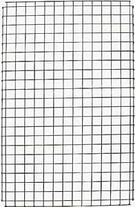 Metaltex 369606039 Polytherm Decoration - Rejilla de metal para pared (66 x 41 cm)