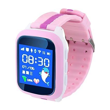 Alomejor Smartwatch Impermeable Rastreador GPS Teléfono ...