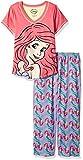Disney Women's Little Mermaid Pinky Mermaid 2 Pc Set
