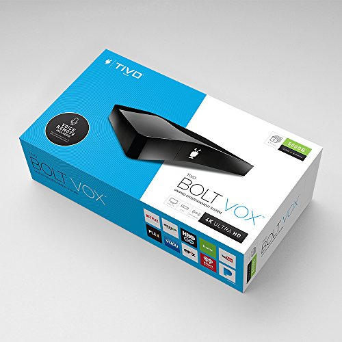TiVo Bolt OTA for Antenna - All-in-One Live TV, DVR and Streaming Apps Device