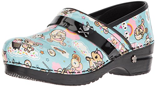 Sanita Women's Koi Dulce Clog, Light Blue