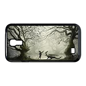 {Art Series} Samsung Galaxy S4 Cases the Boy and His Dragon, Case Kweet - Black
