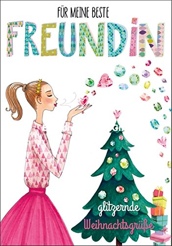 Weihnachtsgrüße Für.Weihnachtskarte Mila Marquis Glitzernde Weihnachtsgrüße Für Meine
