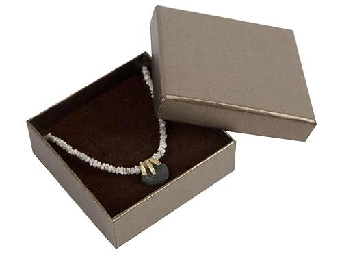 Boxpack 24 Cajas Estuches de cartón para Colgante Collar ...