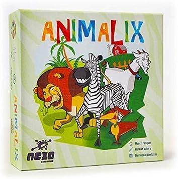 Nexo Ediciones- Animalix Tranjis Games (1): Amazon.es: Juguetes y juegos