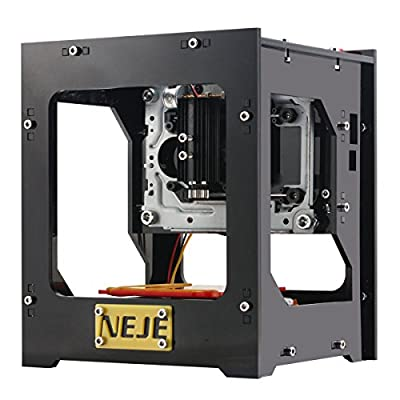 Yosoo 1000mW DIY USB Laser CNC Engraver Printer Cutter Engraving Machine NEJE DK-8-KZ M2U8 for Leather Wood Plastic