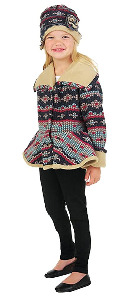 Girls Jacket with Hat Mack /& Co