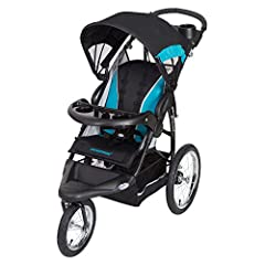 """The Baby Trend Expedition RG Jogger is designed with style. This gender-neutral jogger is sporty and sleek, made with high quality fabrics and premium padding. The Expedition RG is an all-terrain jogger that makes travel a breeze with 16"""" rea..."""