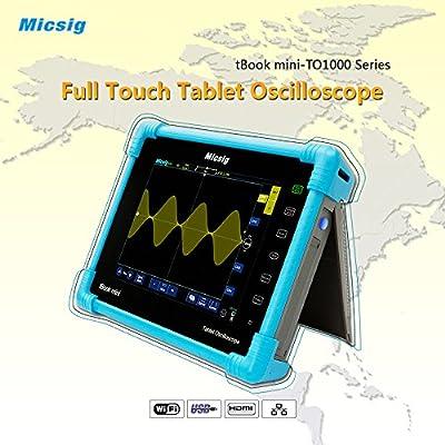 Micsig Digital Tablet Oscilloscope 100MHz 4CH North Amercian Speciall Offer