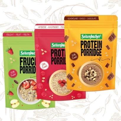 Paquete de prueba lateral de proteína porridge 2 x chocolate ...