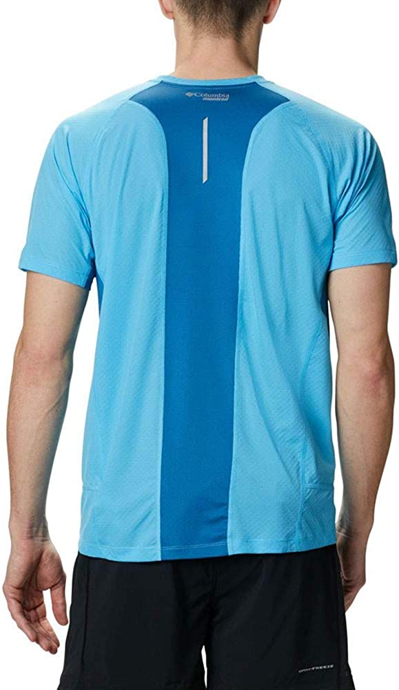Columbia Mens Titan Ultra Ii Running Short Sleeve Shirt