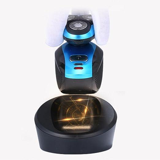 iXpro Rotativa Afeitadora Eléctrica para los hombres Depiladora eléctrica  inalámbrica seco   húmedo Cortapelos de Cuerpo ... 6caaa625e9ba