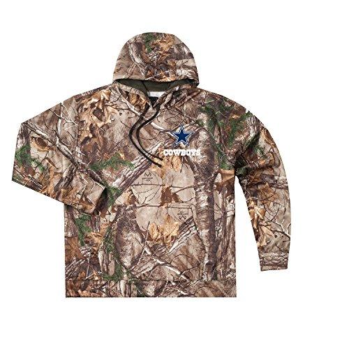 - NFL Dallas Cowboys Camo Trophy Xtra Tech Fleece Full Zip hoodie, X-Large