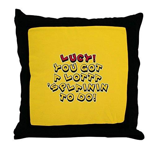 ot Splainin To Do - Decor Throw Pillow (18