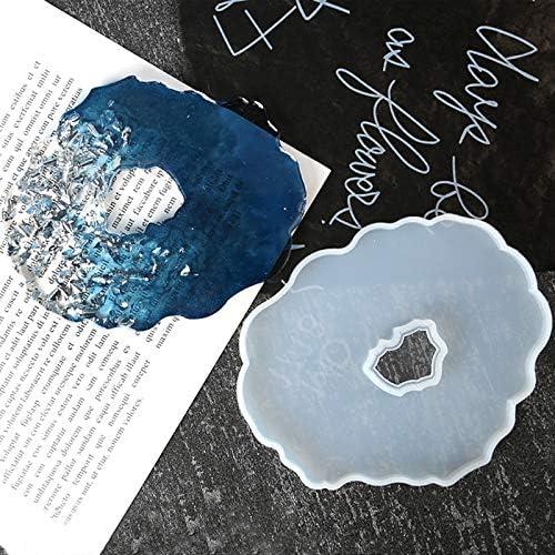 Epoxy Resin Mold Irregular Tray Mold Large Creative Coaster Molds ...