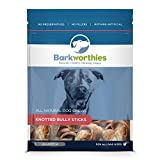 Barkworthies Pet Treat, Smaller Knotted Bones, 4-Pack Review