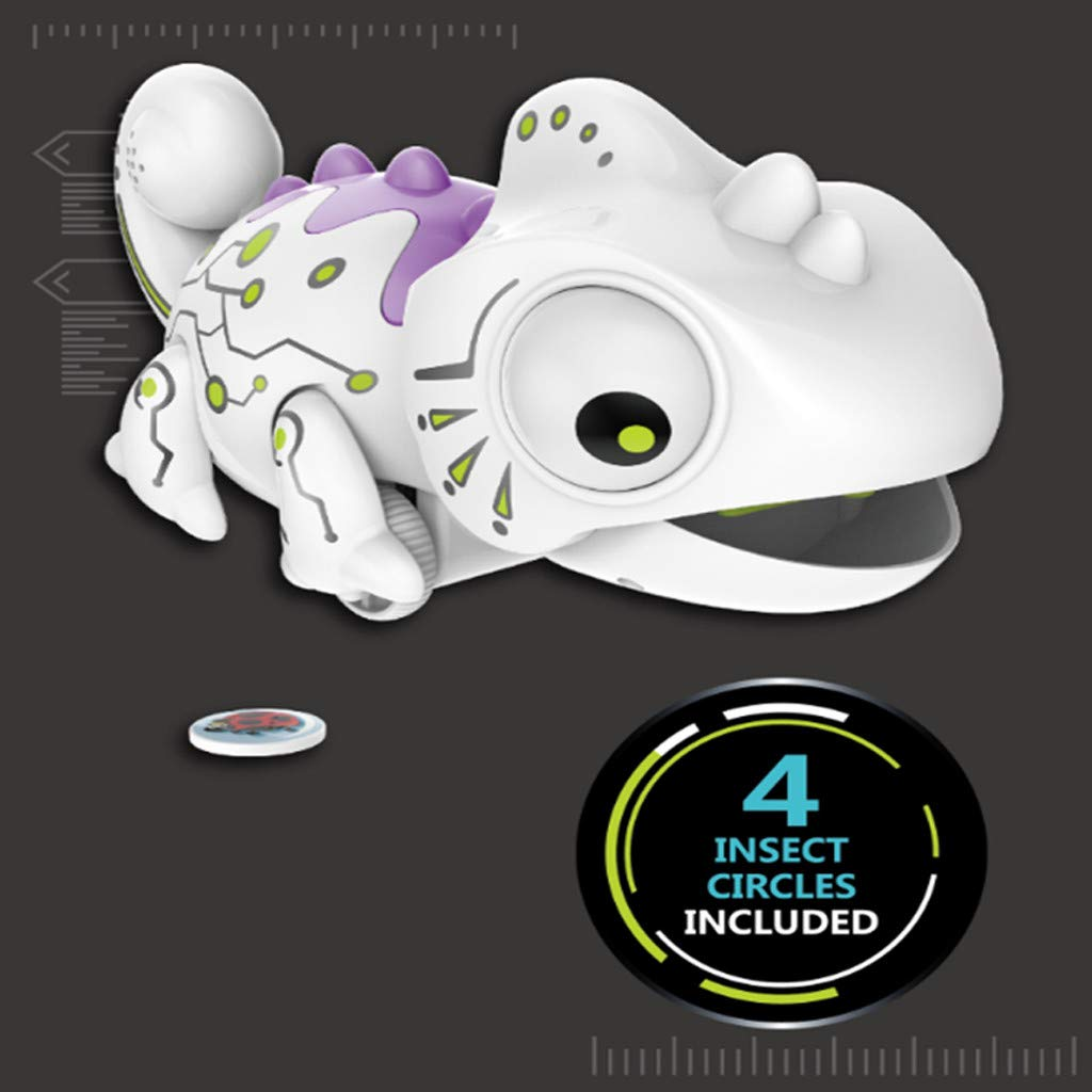 Creazy Smart Chameleon Robotic Can Eat Things Function Cute Toy Electronic Pets by CreazyDog toy (Image #5)