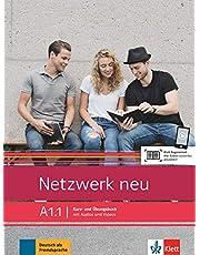 Netzwerk neu a1.1, libro del alumno y libro de ejercicios, parte 1: Deutsch als Fremdsprache. Kurs- und Übungsbuch mit Audios und Videos: Vol. 1