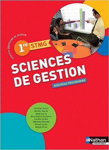 Lire un SCIENCES DE GEST 1RE SMTG ELEV pdf epub