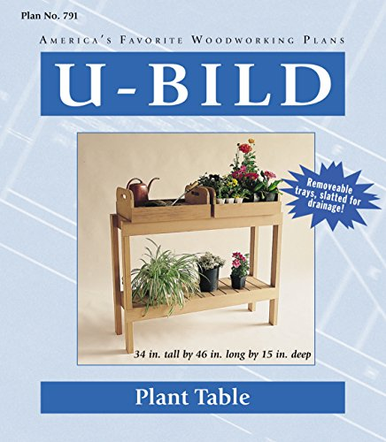 U-Bild 791 2 U-Bild 2 Plant Table Project Plan Potting Bench Plan