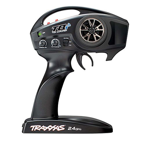 Traxxas 6509R TQi 2.4 GHz 2-Channel High-Output Radio System, TSM (Traxxas 4 Channel Transmitter)