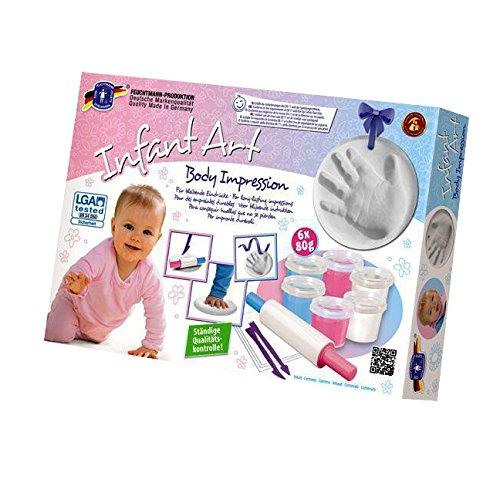 Feuchtmann Spielwaren 6280822 - Infant Art Body Impression, Baby Modellier-Set, 12-teilig 628.0822