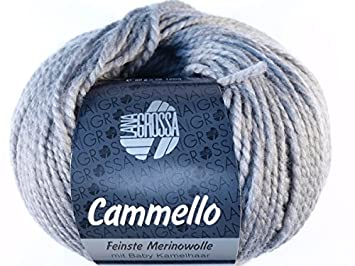Dunkelgrau 15 LANA GROSSA Cammello
