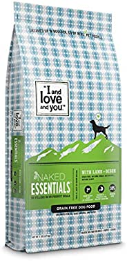 """""""I and love and you"""" Naked Essentials Dry Dog Food - Natural Grain Free Kibble (Variety o"""