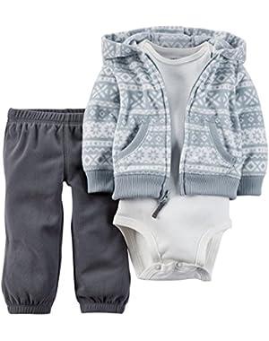 Baby Boys' 3 Piece Cardigan Set (Baby)