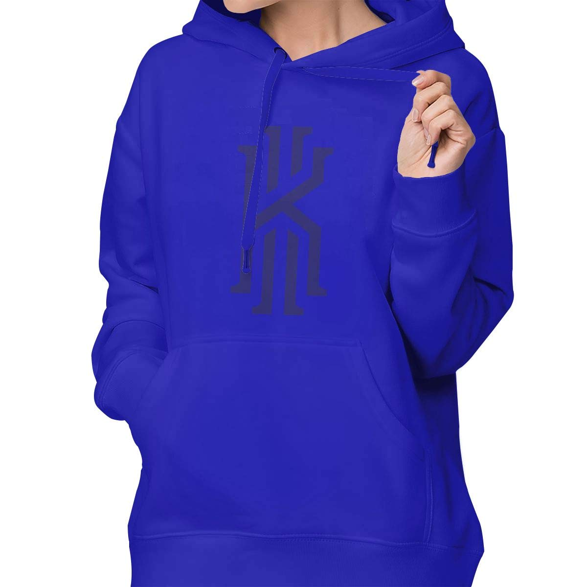 Womens Pullover Hoodie Kyrie K Irving Shirts Shirt Hooded Sweatshirt Hoodies for Women Girls Clothes Outdoor Sport Tops Blue S