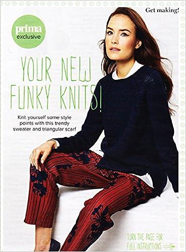 Prima Knitting Pattern Ladys Zipped Raglan Sweater Sizes 81 107cm