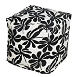 HRH Designs Floral Indoor/Outdoor Beanbag Cube