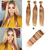 Best Hair Weave Blonde 3 Bundles - XCCOCO Hair Honey Blonde 3 Bundles Peruvian Silk Review