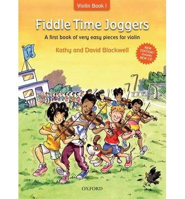 - Fiddle Time Joggers + CD: A First Book of Very Easy Pieces for Violin (Fiddle Time) (Mixed media product) - Common