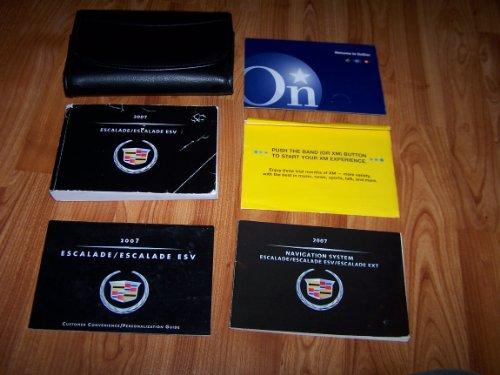 2007 Cadillac Escalade Owners Manual