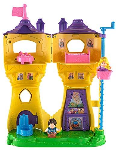 Fisher-Price Little People Disney Princess Rapunzel's Flynn Figure Musical (Princess Tower)