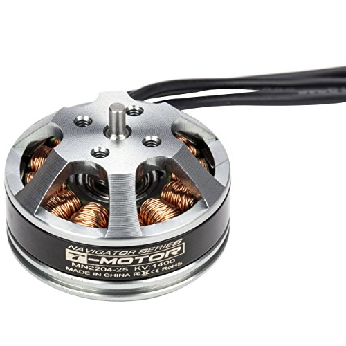 T-MOTOR MN2204 KV1400 High-Performance Brushless Electric Motor for Multi-Rotor Aircraft (Electric Motors Aircraft)