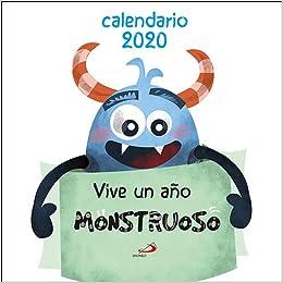 Calendario de pared Vive un año monstruoso 2020 ...