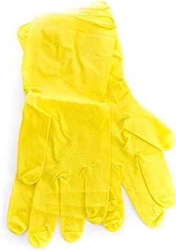 Industriehandschuhe Latex-Kautschuk Gr L gelb
