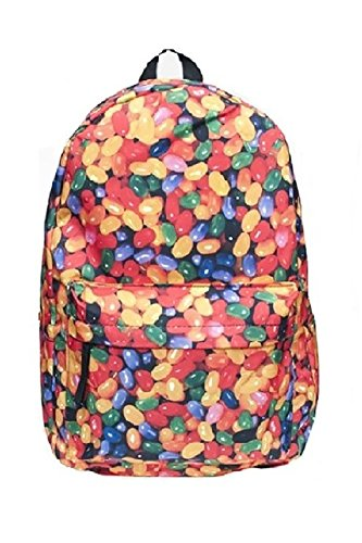 Showroom Novelty Graphics 17-inch School Backpack Including
