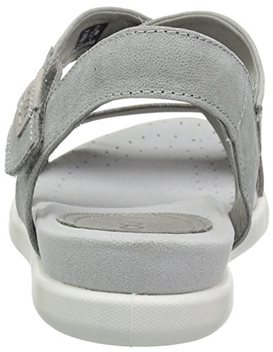 Toe Damara Dove Women's Grey Wild Dove Open Sandals ECCO Wild 55915 1RqtO