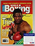 Mike Tyson Autographed Signed Authentic 1995