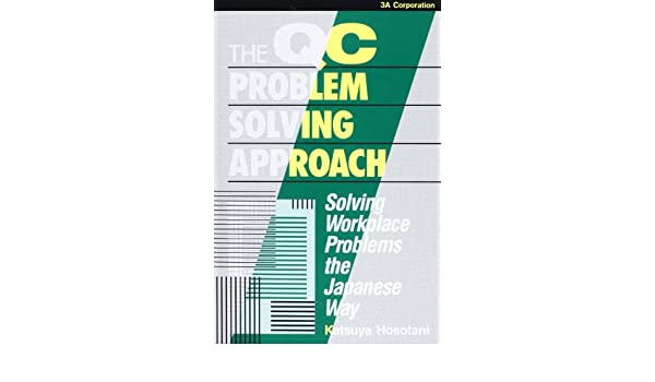the qc problem solving approach by katsuya hosotani
