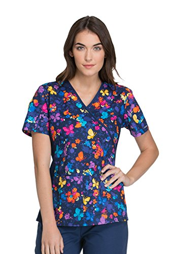 flexible scrub tops - 7