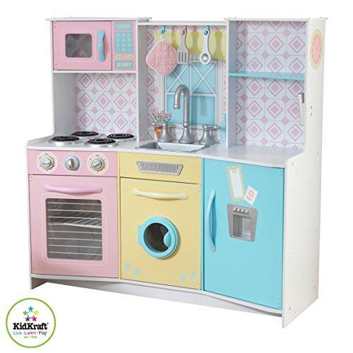 KidKraft 53351 Sweet Treats Pastel Kitchen Toy